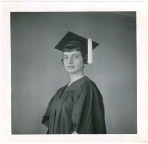 Ursula Mamlok Master's Degree Graduation