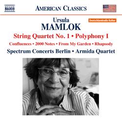 """American Classics """"Ursula Mamlok"""" Vol. 4 (2014)"""