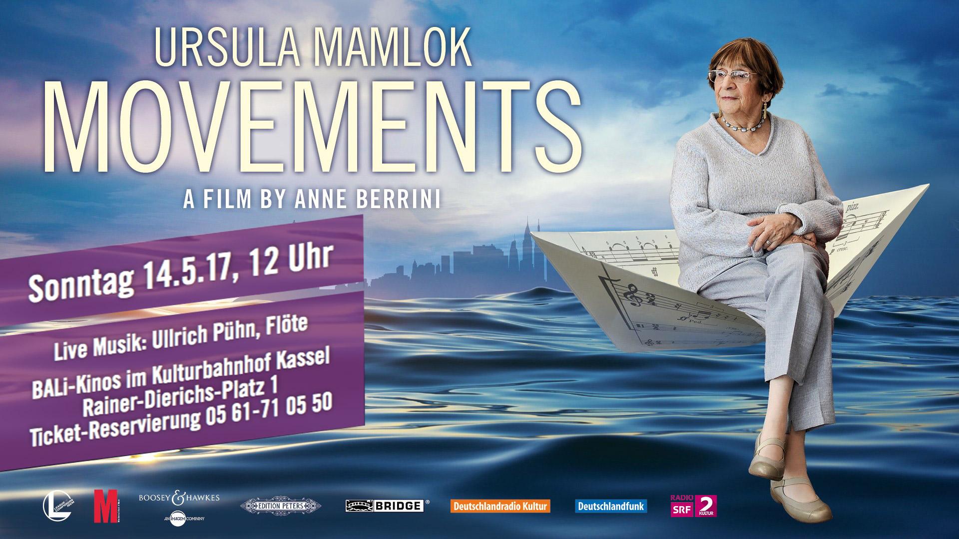 Kassel Filmvorführung Movement Ursula Mamlok