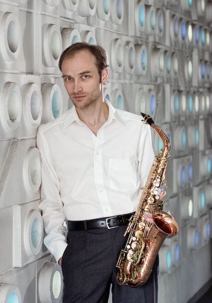 Frank Lunte, Saxophonist